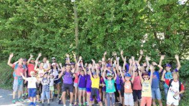 Rando à la planche des belles filles avec 45 participants club… évènement extra sportif convivial réunissant les petits et grands pour aller voir les coureurs du Tour de France